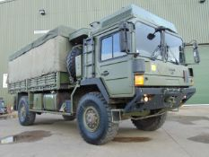 MAN 4X4 HX60 18.330 FLAT BED CARGO TRUCK ONLY 24,217 Km!