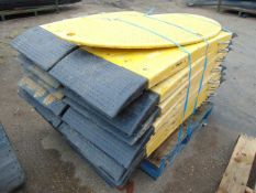 20 x Heavy Duty Oxford Plastics LowPro 15/05 Road Plates for 700mm Trenches