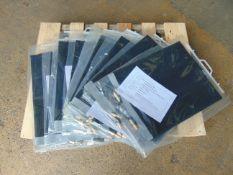 10 x UNISSUED 1m x 1.1m NBC Mk2 Groundsheets