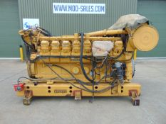 Caterpillar 3516 Dita V-Block 16 Cylinder Diesel Engine