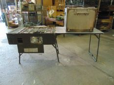 Field Cooking Outfit No 5 c/w Gas Pipes and Oven - Ex Reserve