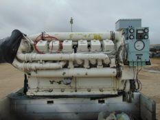 Paxman A12 YHCAZ V12 Diesel Marine Engine