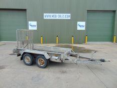 Indespension 2.7 Ton Twin Axle Plant Trailer c/w Ramp