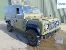 Land Rover Wolf 110 Soft Top with Remus upgrade damage repairable