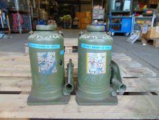 Q 2 Weber 20 Tonne Hydraulic Jacks