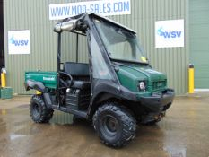 Kawasaki Mule 4010 4WD Diesel Utility Vehicle UTV c/w Power steering & Front Winch