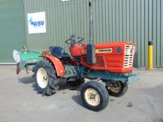 Yanmar YM1401 Compact Tractor c/w Rotovator ONLY 714 Hours!