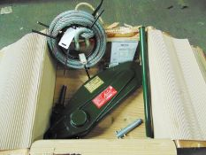 UNISSUED T35 Tirfor Winching Kit Complete with Wire Rope etc