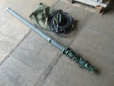 Racal 1486-000 12m Mast c/w Accessories