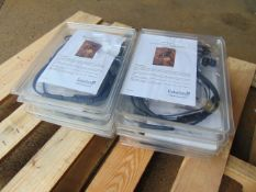 10 x UNISSUED Racal Acoustics Frontier 1000 RA5500 Headsets