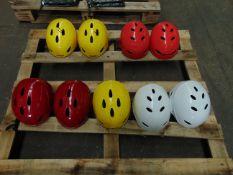 9 x Climbing-White Water Rafting-Kayak Safety Helmets