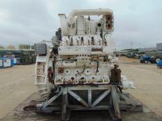 Paxman AYJCAZ V8 Diesel Marine Engine