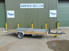 Brian James Clubman Single Axle Car Transporter Trailer with Ramps