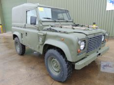 Left Hand Drive Land Rover Wolf 90 Hard Top with Remus upgrade