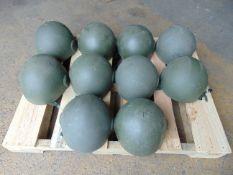 10 x British Army GS MK.6 combat helmets