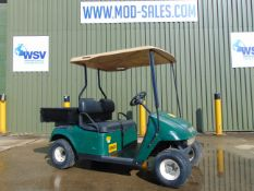 E-Z-GO Estate Vehicle c/w Rear Cargo Body ONLY 1,025 HOURS!