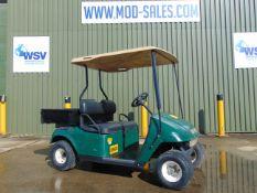E-Z-GO Estate Vehicle c/w Rear Cargo Body ONLY 1,025 HOURS!