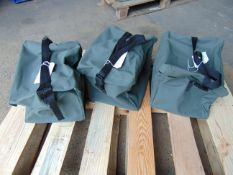3 x Canvas Carry Bags new unused