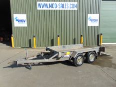 Indespension 2.7 Ton Twin Axle Plant Trailer c/w Ramp