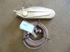 3 Ton Tirfor Winch & Cable Assy