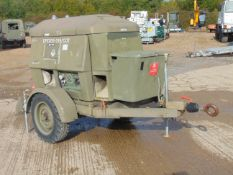 Ex Uk Royal Air Force Trailer Mounted 25 KVA Generator