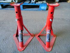 2 x Unissued Torin Big Red Axle Stands as shown