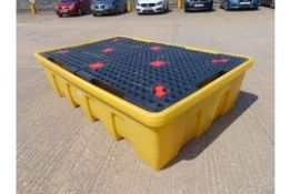 New & Unused Double IBC Container Spill Pallet