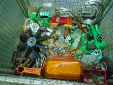 Stillage of Mixed Vehicle Spares