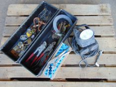 Mixed Tools, Padlocks, Worklight etc