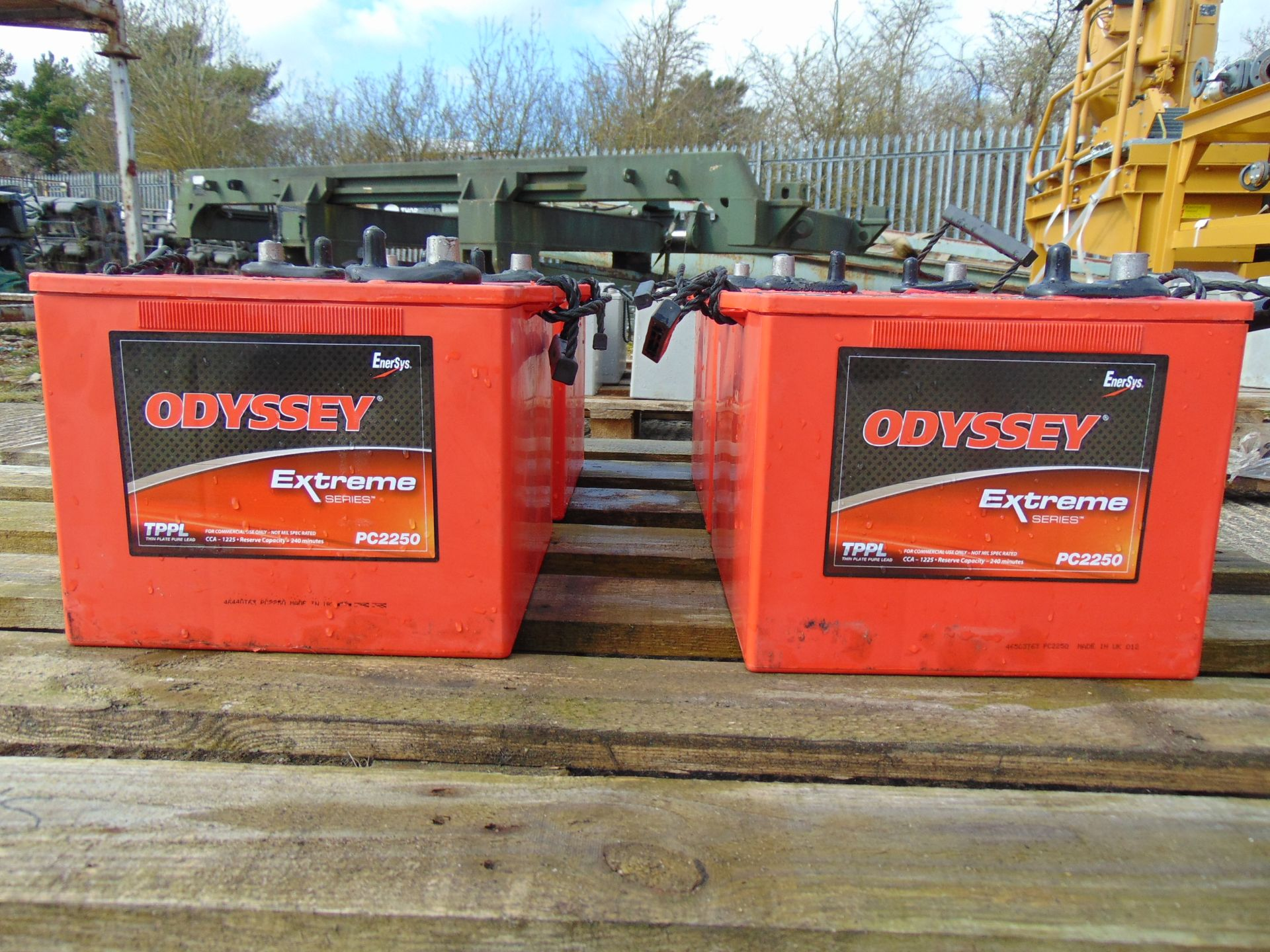 Los 404 - 4 x Odyssey Extreme PC2250 Batteries