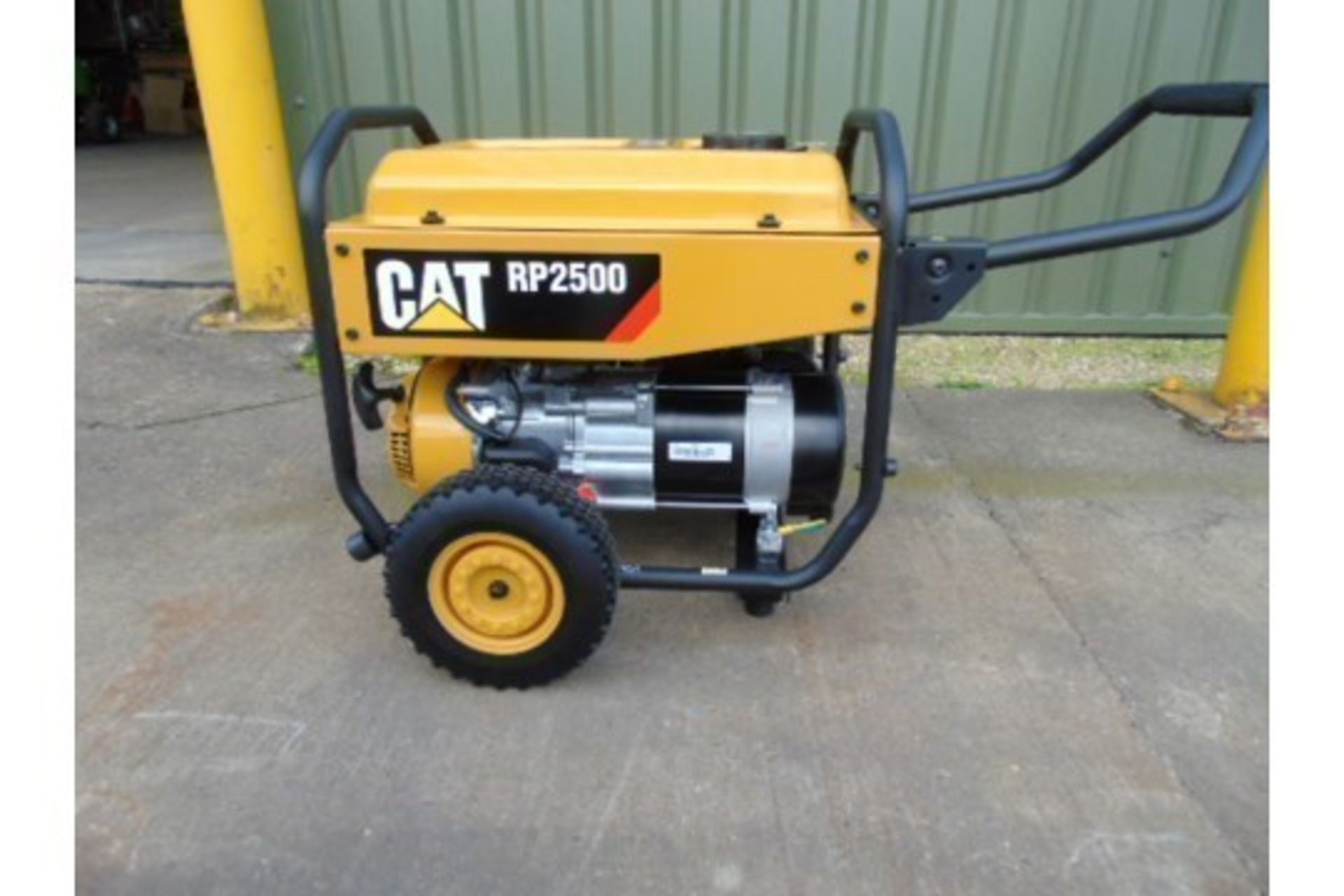 Lot 346 - UNISSUED Caterpillar RP2500 Industrial Petrol Generator.