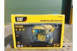 UNISSUED Caterpillar RP2500 Industrial Petrol Generator.