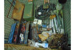 Stillage of Mixed Workshop Tools, Etc