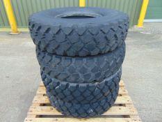 4 x Michelin 255/100 R16 XZL Tyres