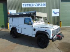 2011 Land Rover Defender 110 Puma Hardtop 4x4 Special Utility (Mobile Workshop) complete with Winch