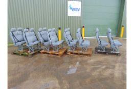 Qty 8 x Double Coach Seats