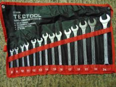 1 x Tectool 14 PCS. Combination Spanner Set new unissued