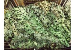 Camouflaged Woodland Netting