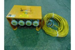Extension with 4-way Splitter