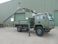 Leyland DAF 4X4 Truck complete with Atlas Crane