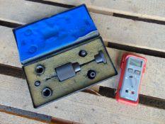 Diesel Injector Puller & Iso-tech IDM 63N Handheld Digital Multimeter