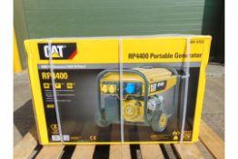 UNISSUED Caterpillar RP4400 Industrial Petrol Generator Set.