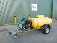 Trailer Mounted Pressure Washer with 1000 litre Water Tank and Yanmar Diesel Engine