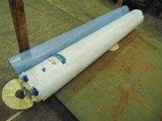2 x Rolls of Altro Contrax Light Blue PP2074 Anti Slip Safety Vinyl Flooring 40sqm & Approx 8 sqm