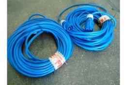Qty 2 x 30 Metre Extension Cables