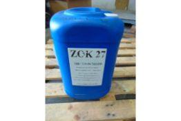 Qty 1 x 25 Ltr Zok-27