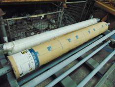 2 x Rolls of Altro Contrax Light Beige CX2001 Anti Slip Safety Vinyl Flooring