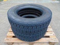 2 x Goodyear Regional RHD II 275/70 R22.5 Tyres