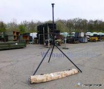 Ground Mounted 3 metre Mast/Antenna