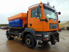2008 MAN TGM 18.280 18T 4wd Gritter Lorry C/W Schmidt Gritter Body 34,000 kms only